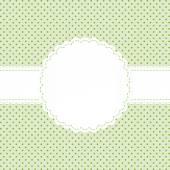Banderole on point pattern — Stock vektor