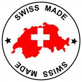 Patch Swiss Made — Stock Vector
