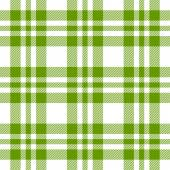 Checkered tablecloths pattern GREEN - endless — Stock Vector