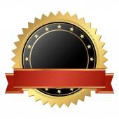 Vector template seal of quality — Stock Vector