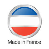 Seal of quality MADE IN FRANCE — Wektor stockowy