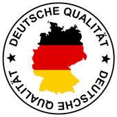 Patch Deutsche Qualität — Stock Vector