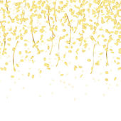 Falling confetti endless — Stock Vector