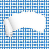 Oktoberfest - torn-paper with copy space — Stock Vector