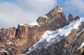 Peak of mountains, central Asia, Tajikistan — Stock Photo