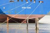 Log Ship — Stock Photo
