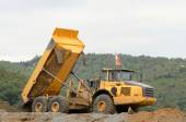 Articulated Dump — Stock Photo