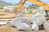 Larg Rock — Stock Photo