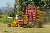 Bale Wagon  — Stock Photo