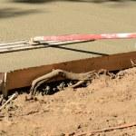 Concrete Sidewalk — Stock fotografie #67683581