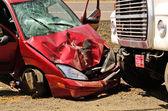 Autounfall — Stockfoto