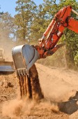 Track Hoe — Stock Photo