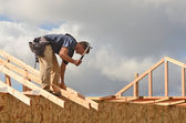 Roof Rafter — Stock Photo