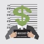 Business Litigation Concept Vector Illustration — Stock Vector