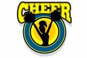 Cheer gal — Stock Vector