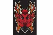Devils fire — Stock Vector