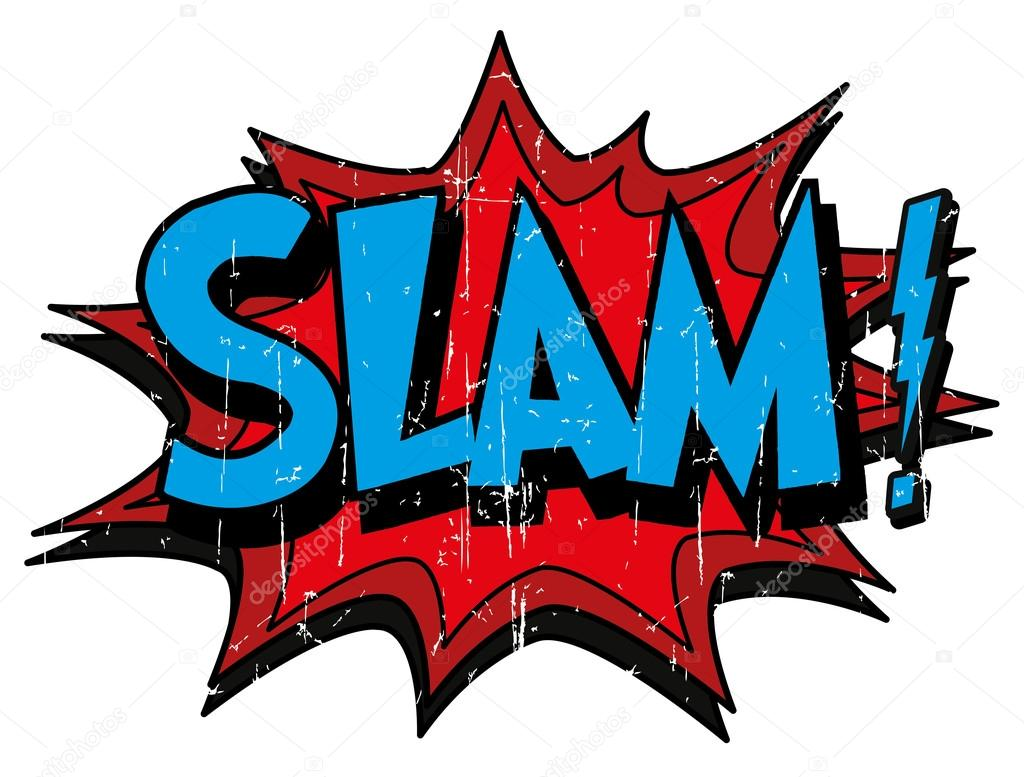 Bubble With Word Slam Stock Vector 169 Scotferdon 59016561
