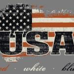 USA flag and map design — Stock Vector #59360957