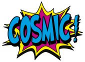 Explosion bubble cosmic — Stock Vector