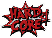 Explosion bubble hard core — Stock Vector
