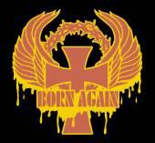 Born again — Stock Vector