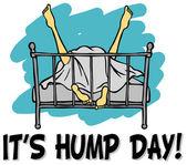 It's hump day — Wektor stockowy