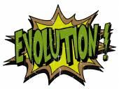 Explosion bubble evolution — Stock Vector