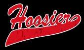 Text Hoosier State — Stock Vector