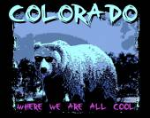 The Colorado bear — Stock Vector