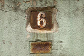 House number — Stock Photo