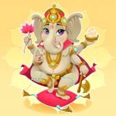 Ganesh — Stock Vector