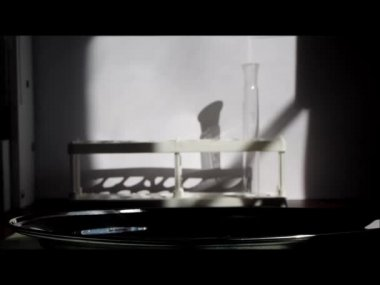 Analysis in the laboratory. Medicine, health — Stock Video