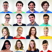 Group of smiling people — Stock Photo