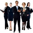 Business people standing together — Stock Photo #58408837