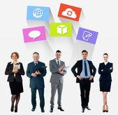 Equipe de negócios — Fotografia Stock