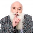 Man gesturing to keep quiet — Stock Photo #59353951
