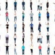 Collection of diversified people — Stock Photo #69993053