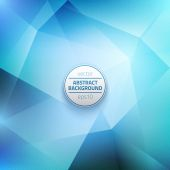 Vector Blue Abstract Background — Stock Photo