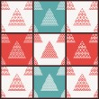 Christmas vector seamless patterns — Stock Vector #59324689