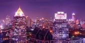 Landmark of Bangkok in twilight time — Φωτογραφία Αρχείου