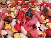 Variety of sushi — Stock Photo