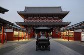Early morning in Asakusa Temple — Stock Photo