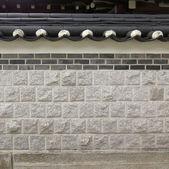 Korean style wall — Stock Photo