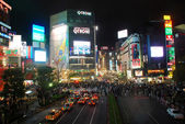 Shibuya cross road in Japan — Stock Photo