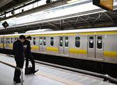 Shinjuku station in Tokyo — Stock Photo