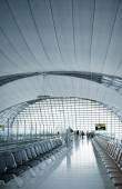 Interior of Suvarnabhumi Airport terminal — Stock Photo