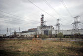 Nuclear power station in Chernobyl — Photo