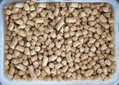 Pellet feed soybean meal — Stock Photo