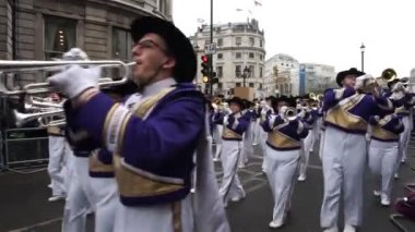 2015, New Year's Day Parade, London — Stock Video