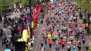 2015, London Marathon — Vídeo de Stock